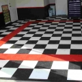 Raceway Garage Tile Manufacturing